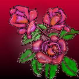 Latha Gokuldas Panicker - Three Roses