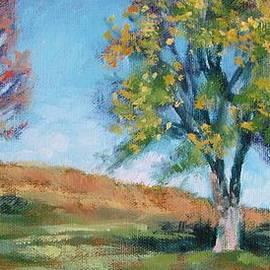 Three Trees on the Hill by Bonnie Mason