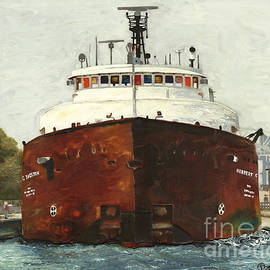 Through the Locks - Herbert C. Jackson by Stefanie Moran