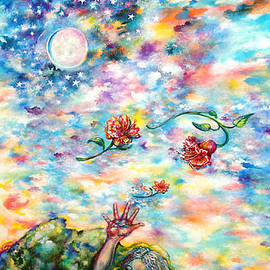 Susan Schiffer - Throwing Flowers to the Moon