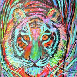 Tiger Stare by Kendall Kessler