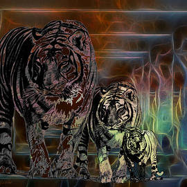 EricaMaxine  Price - TIGERS-Featured in Visions in the Night