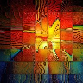 Tiled Sunshine by Amanda Moore