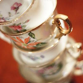 Tilted Teacups by Southern Tradition