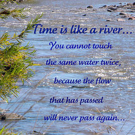 Michelle Frizzell-Thompson - Time is like a river...