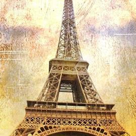 Timeless  Eiffel Tower by Carol Groenen