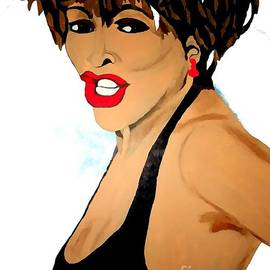 Saundra Myles - Tina Turner Fierce 3