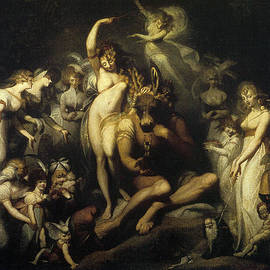 Henry Fuseli - Titania and bottom 1790