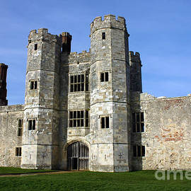 Titchfield Abbey Hampshire front view by Terri Waters