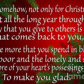 Tina M Wenger - To make you glad