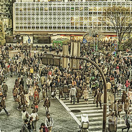 Akihabara crossing  Tokyo by Patricia Hofmeester