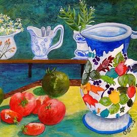 Caroline Street - Tomatoes and Milk Jugs
