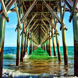 Topsail Pier by Kelley Freel-Ebner