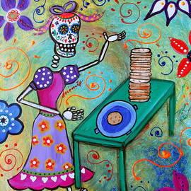 Pristine Cartera Turkus - Tortillera Dia De Los Muertos