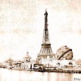 Tour Eiffel Exposition universelle 1900 by Helge