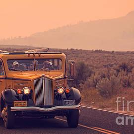 Touring Yellowstone by Edward Fielding