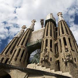Towers Of Sagrada Familia  by Lorraine Devon Wilke