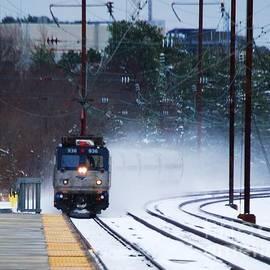 Marcus Dagan - Train Approaching B W I Station 2