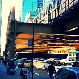 Train. Bike. Car. Bus. Walk.  by Frank J Casella