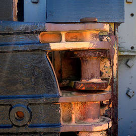 Robert Riordan - Train Engine Detail