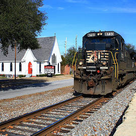 Joseph C Hinson Photography - Train Goes to Church
