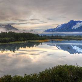 Bruce Friedman - Train Ride along the Scenic Seward Highway - Alaska