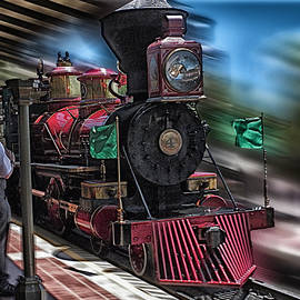Thomas Woolworth - Train Ride Magic Kingdom