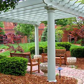 Tranquil Courtyard by Ann Horn