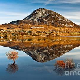 Tranquil Errigal - Ireland by Derek Smyth
