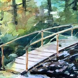 Spencer Meagher - Tranquil Foot Bridge