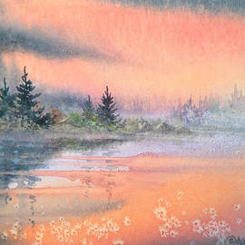 Tranquil Lake by Teresa Ascone