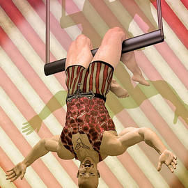 Trapeze artist  by Quim Abella