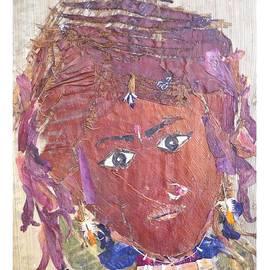 Tribal Beauty  by Basant Soni
