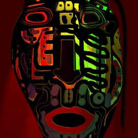 Natalie Holland - Tribal Mask