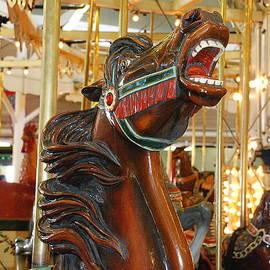 Trimper's Carousel 1 by Francie Davis