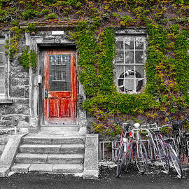 Trinity College Dorm - Dublin Ireland by Bill Cannon