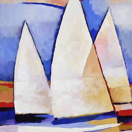 Triple Sails by Lutz Baar