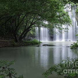 Juan Carlos Vindas - Tropical dryforest waterfall in Costa Rica