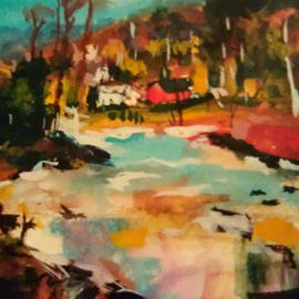 Kathy Stiber - Truckee River Impression