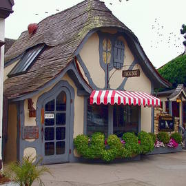 Tuck Box Tearoom - Carmel California by Glenn McCarthy Art and Photography