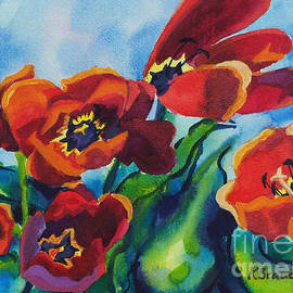 Kathy Braud - Tulips Blowing in the Wind
