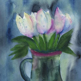 Frank Bright - Tulips In A Beer Mug