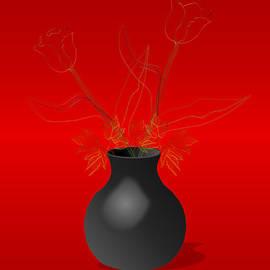 Anna Elia - Tulips In A Vase