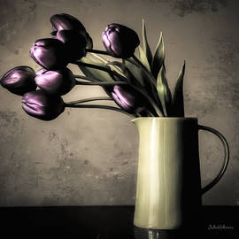 Julie Palencia - Tulips in the Evening Light