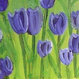Debra Organ - Tulips in the Field