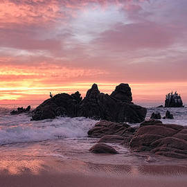 Turbulence and Calm At Sunrise by Marcia Colelli