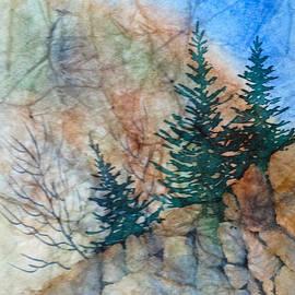 Turnagain Bluff by Teresa Ascone