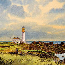 Bill Holkham - Turnberry Golf Course 9Th Tee
