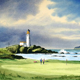 Bill Holkham - Turnberry Golf Course Scotland 10th Green
