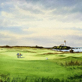 Bill Holkham - Turnberry Golf Course Scotland 12Th Tee